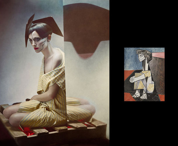 Eugenio-Recuenco-Portraits-In-The-Style-Of-Pablo-Picasso-6