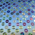 """Mirror Culture"" Installation Made of 6,000 CDs"