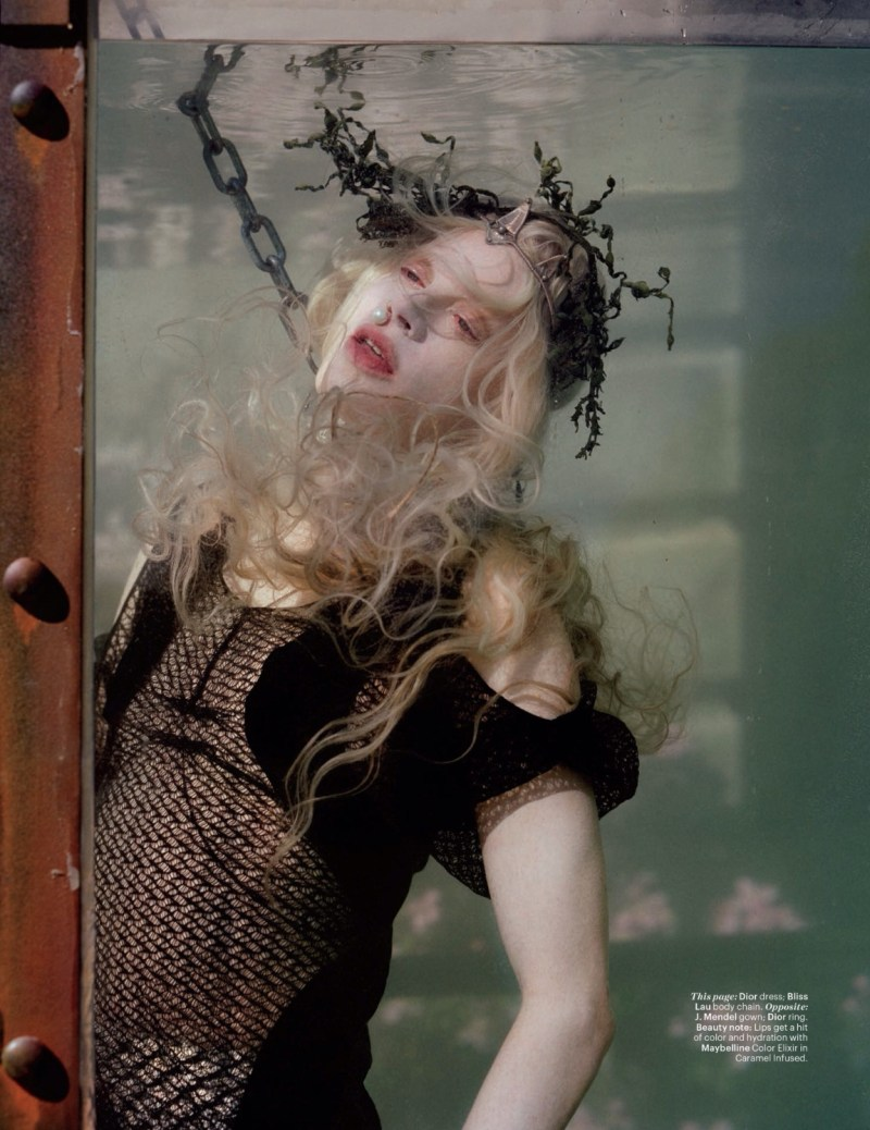 Kristen McMenamy is a mermaid for Tim Walker (3)