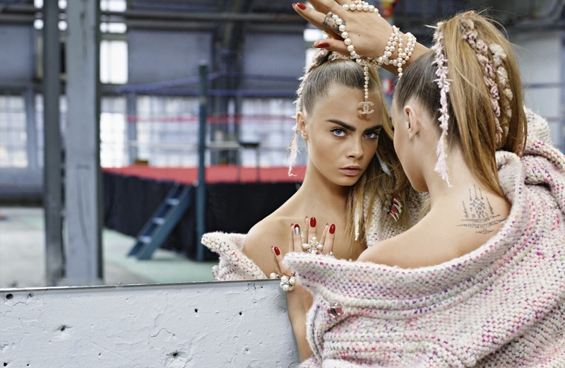 Chanel Gets Sporty Fall 2014 Campaign ft CARA DELEVINGNE