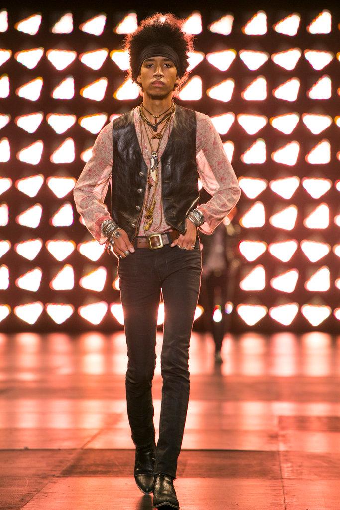 Saint Laurent Menswear SS 2015
