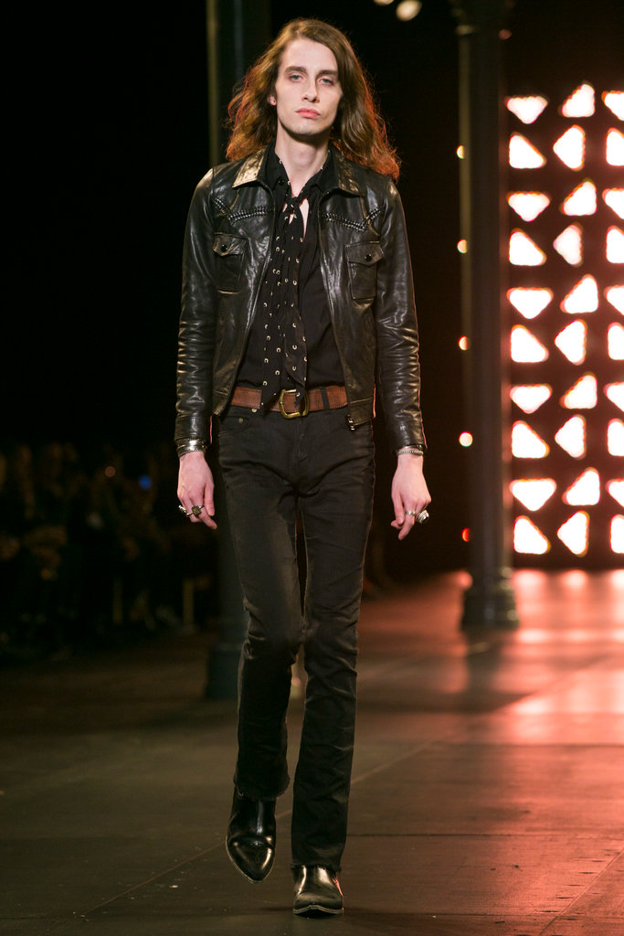 Saint Laurent Menswear SS 2015