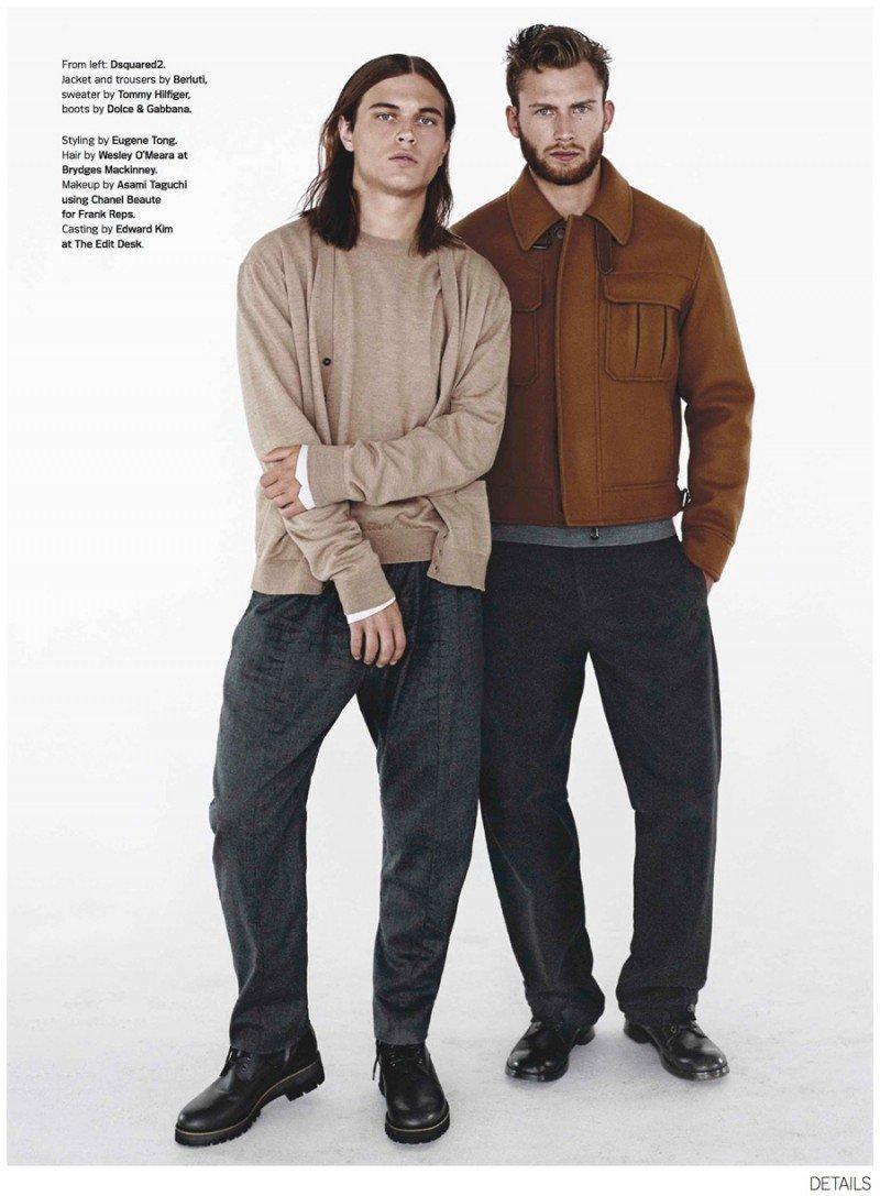 80's Inspired Menswear Editorial