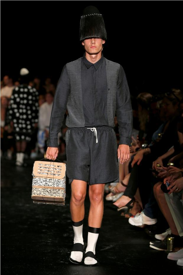 Henrik Vibskov S/S 2015 Copenhagen Fashion Week