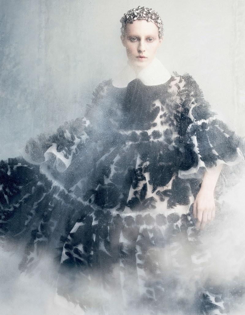 Julia Nobis photographed by Luigi+Iango