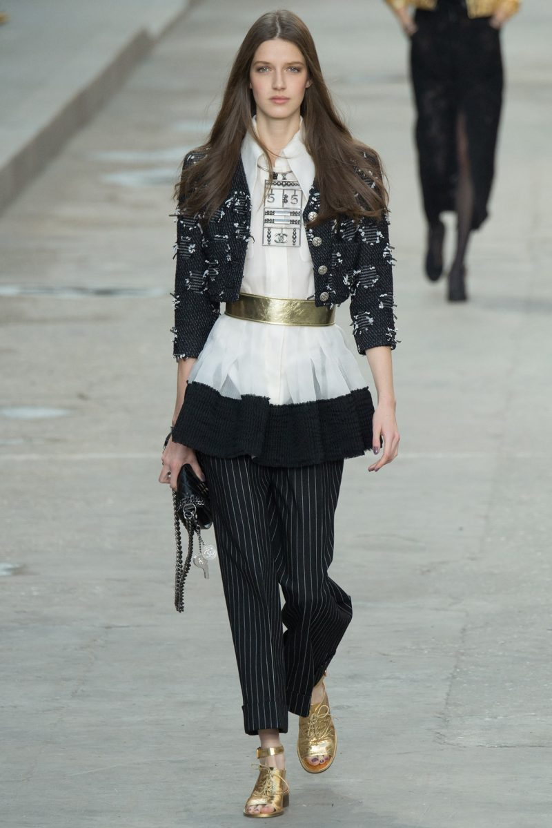 Chanel SS 2015 PFW (74)