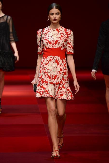 Dolce & Gabbana SS 2015 MFW (26)