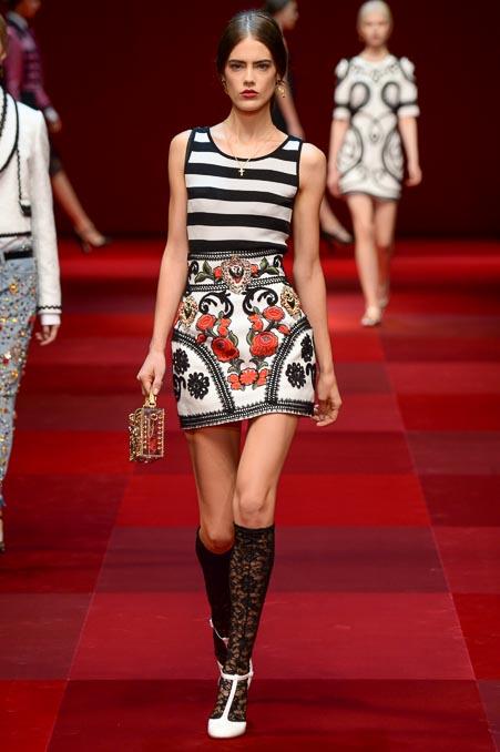 Dolce & Gabbana SS 2015 MFW (39)