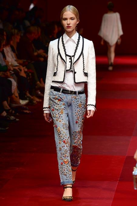 Dolce & Gabbana SS 2015 MFW (40)