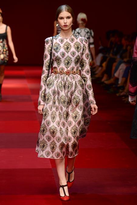 Dolce & Gabbana SS 2015 MFW (44)