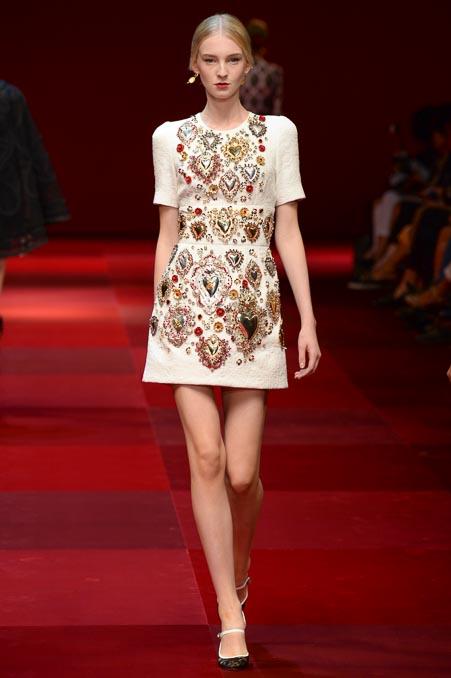 Dolce & Gabbana SS 2015 MFW (47)