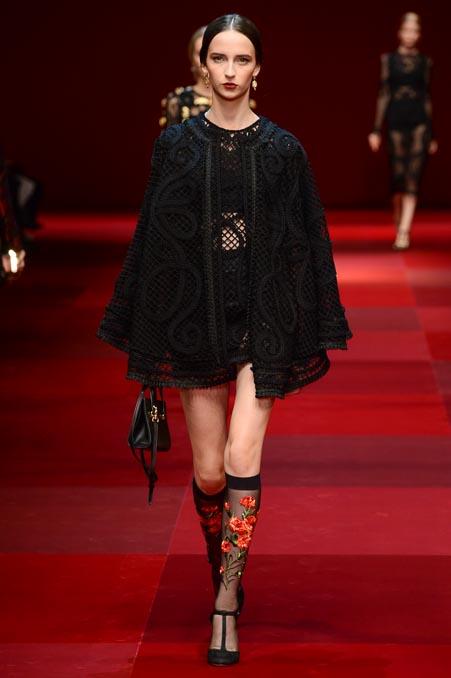 Dolce & Gabbana SS 2015 MFW (48)