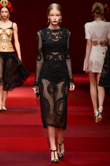 Dolce & Gabbana SS 2015 MFW (50)