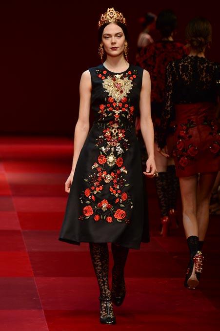Dolce & Gabbana SS 2015 MFW (59)