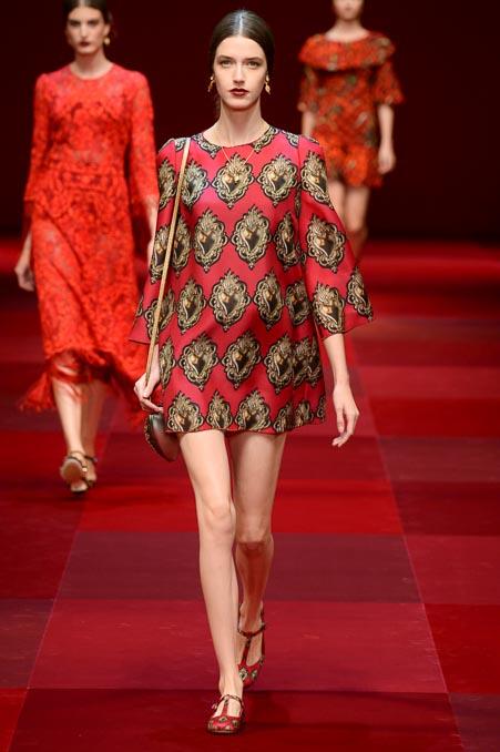Dolce & Gabbana SS 2015 MFW (63)