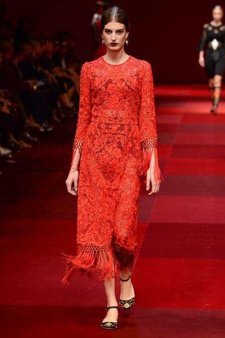 Dolce & Gabbana SS 2015 MFW (64)