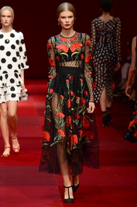 Dolce & Gabbana SS 2015 MFW (71)