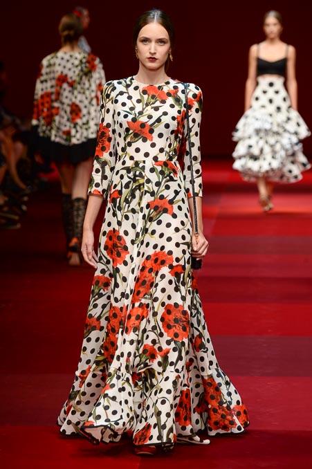 Dolce & Gabbana SS 2015 MFW (73)
