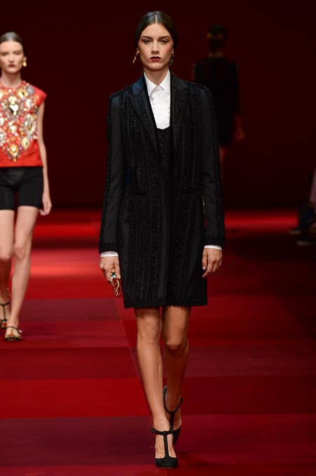 Dolce & Gabbana SS 2015 MFW (9)