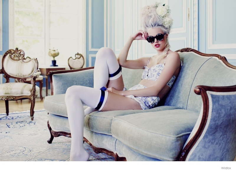 Fit For a Queen Wildfox Sunglasses Fall 2014 Lookbook