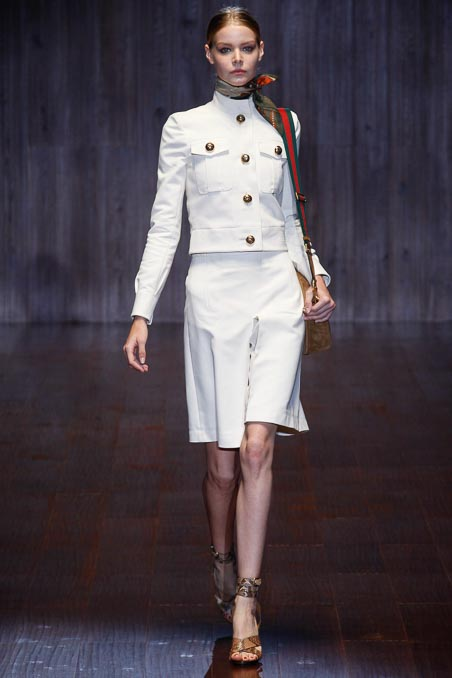 Gucci S/S 2015 LFW