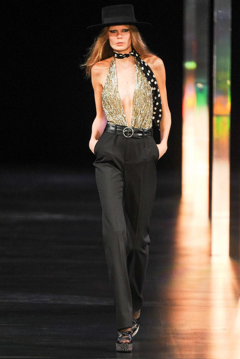 Saint Laurent SS 2015 PFW (18)