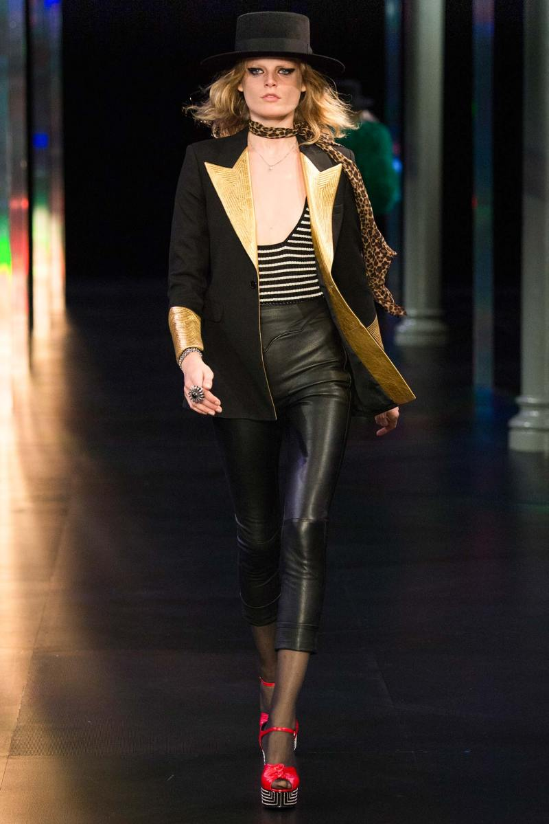 Saint Laurent SS 2015 PFW (47)