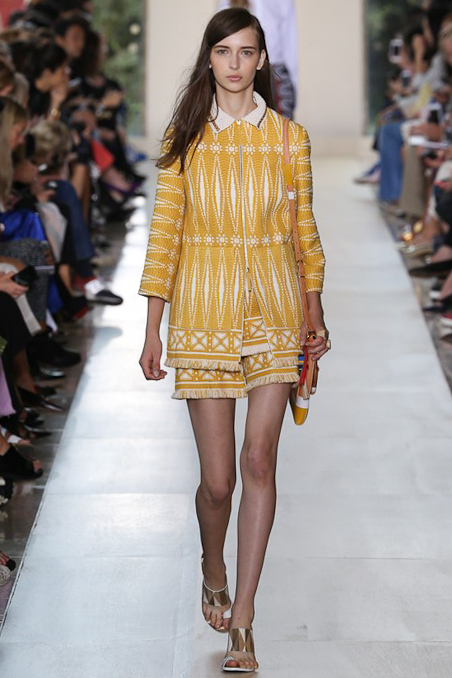 Tory Burch Ready To Wear SS 2015 NYFW
