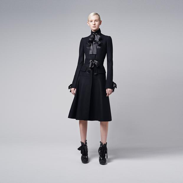 Alexander McQueen AW 2014 lookbook