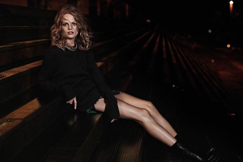 Hanne Gaby Odiele by photographer Vanmossevelde