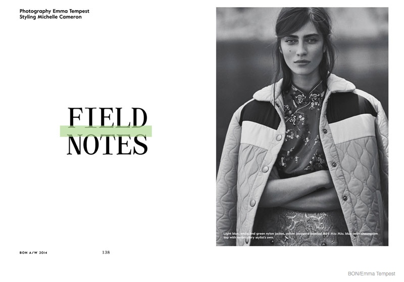 Field Notes Marien Deleeuw by Emma Tempest