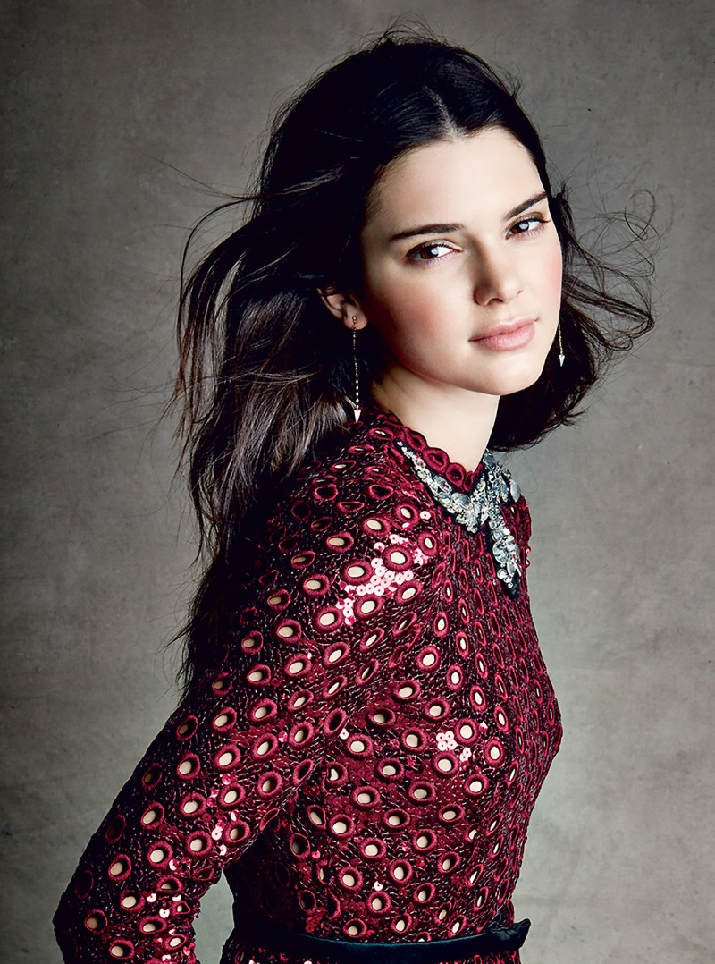 KENDALL JENNER for American Vogue December 2014