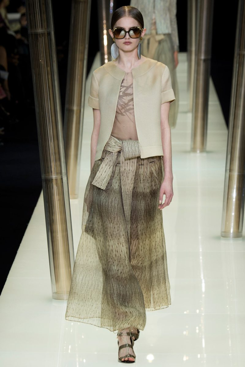 Armani Privé Haute Couture SS 2015 Paris (10)