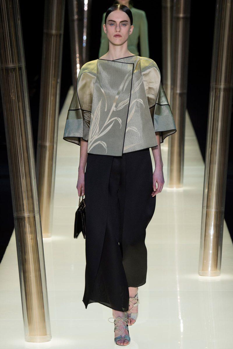 Armani Privé Haute Couture SS 2015 Paris (15)