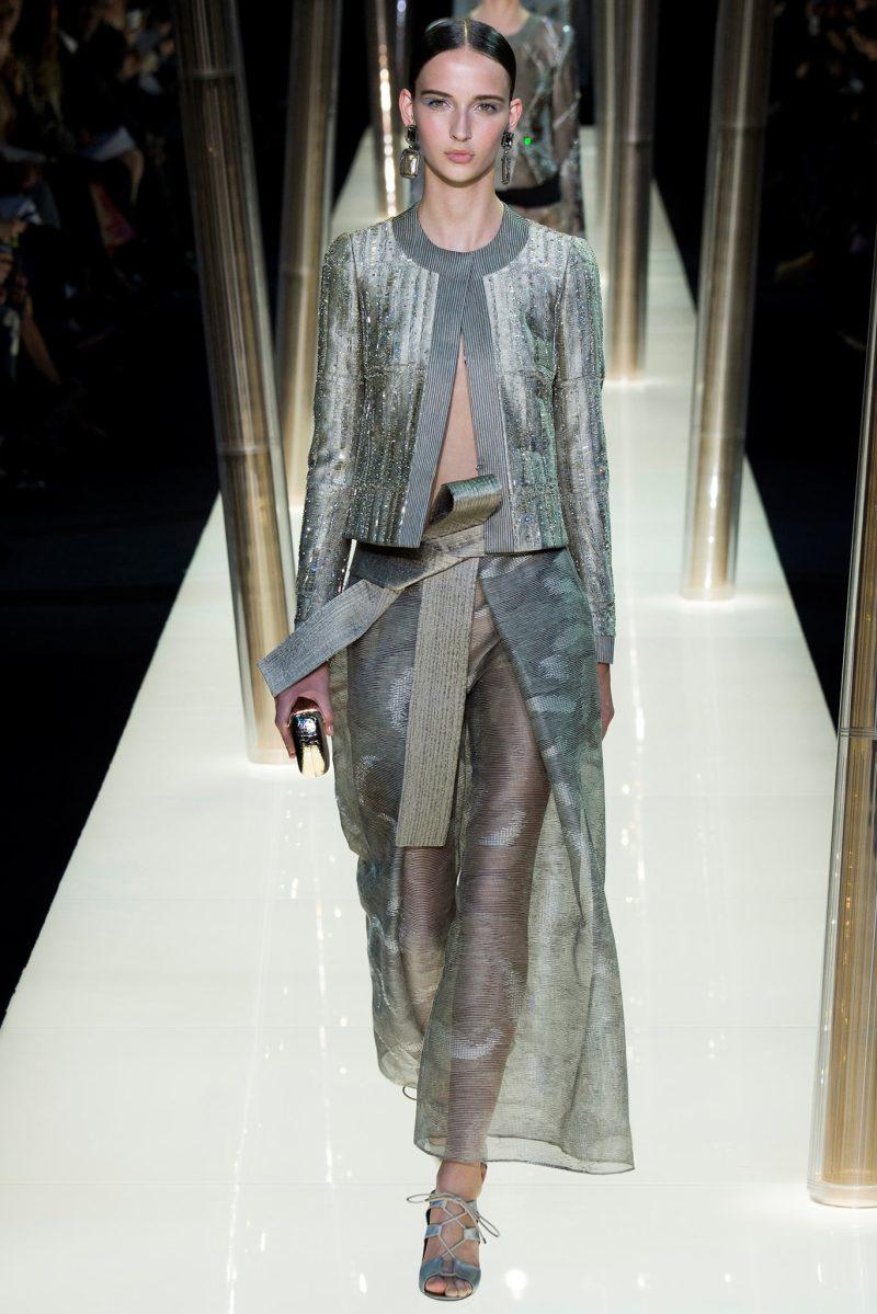 Armani Privé Haute Couture SS 2015 Paris (29)
