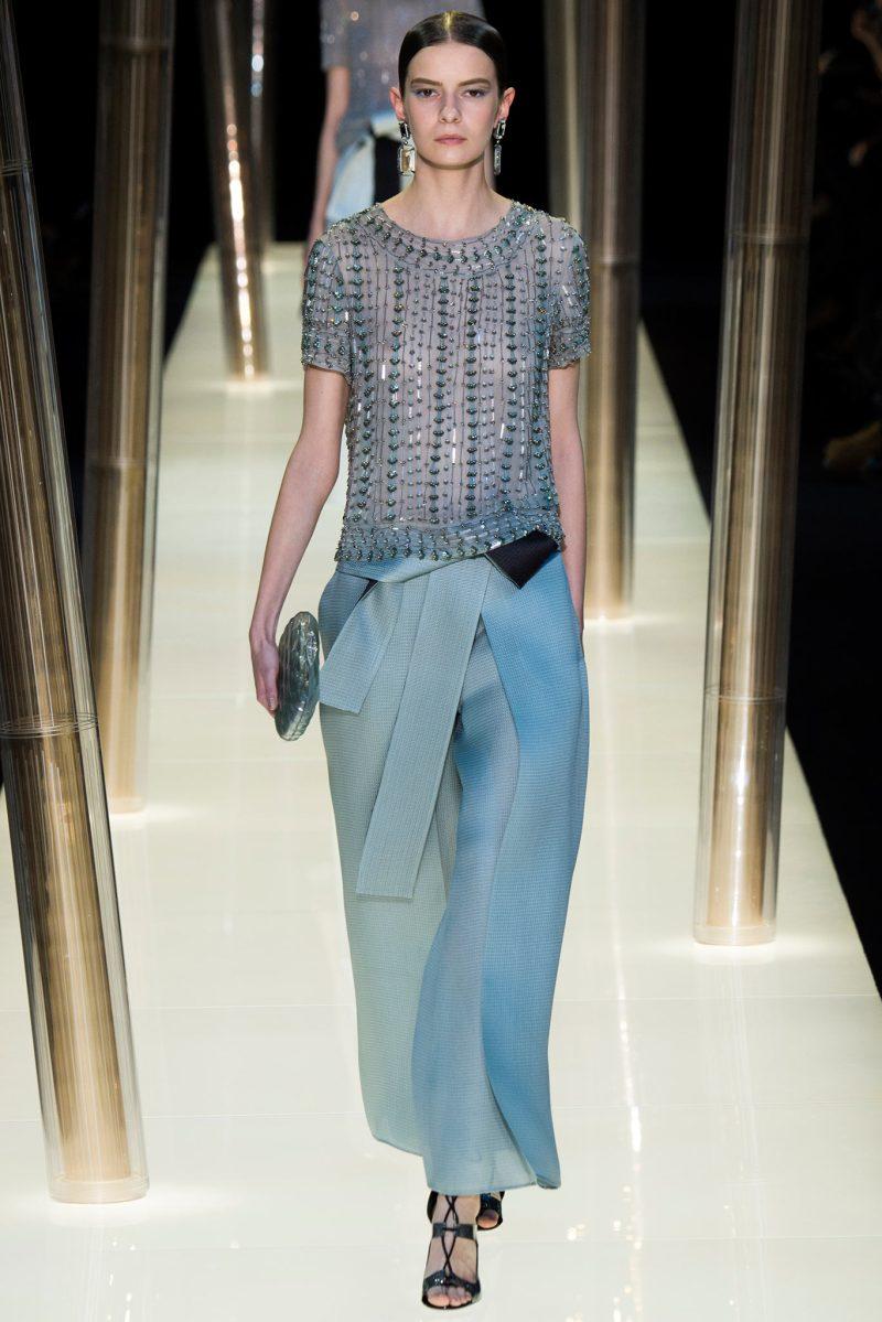 Armani Privé Haute Couture SS 2015 Paris (33)