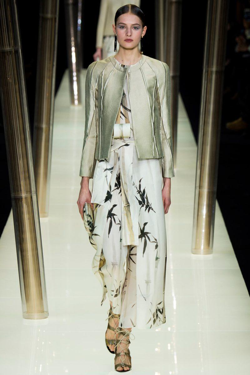 Armani Privé Haute Couture SS 2015 Paris (4)
