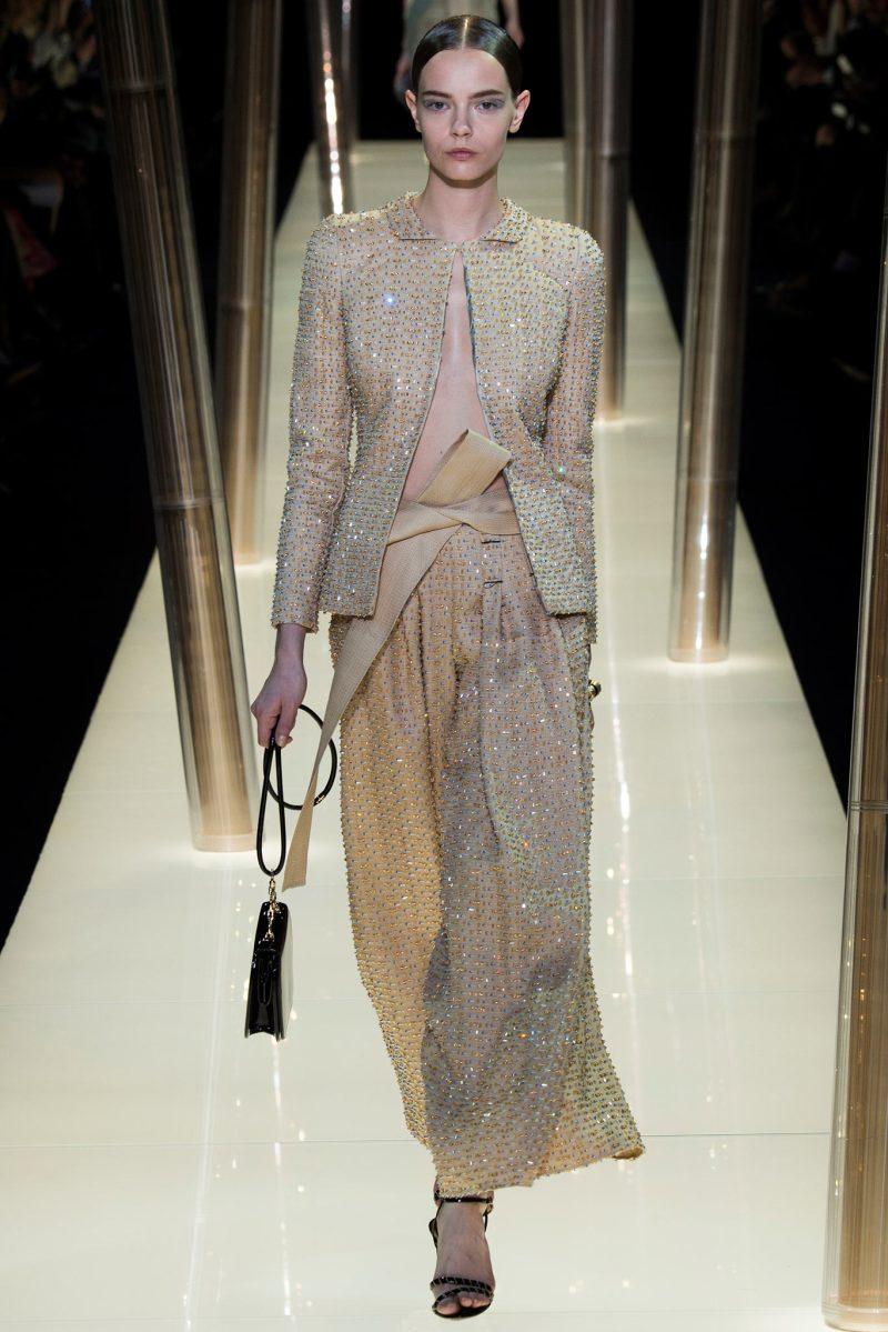Armani Privé Haute Couture SS 2015 Paris (40)