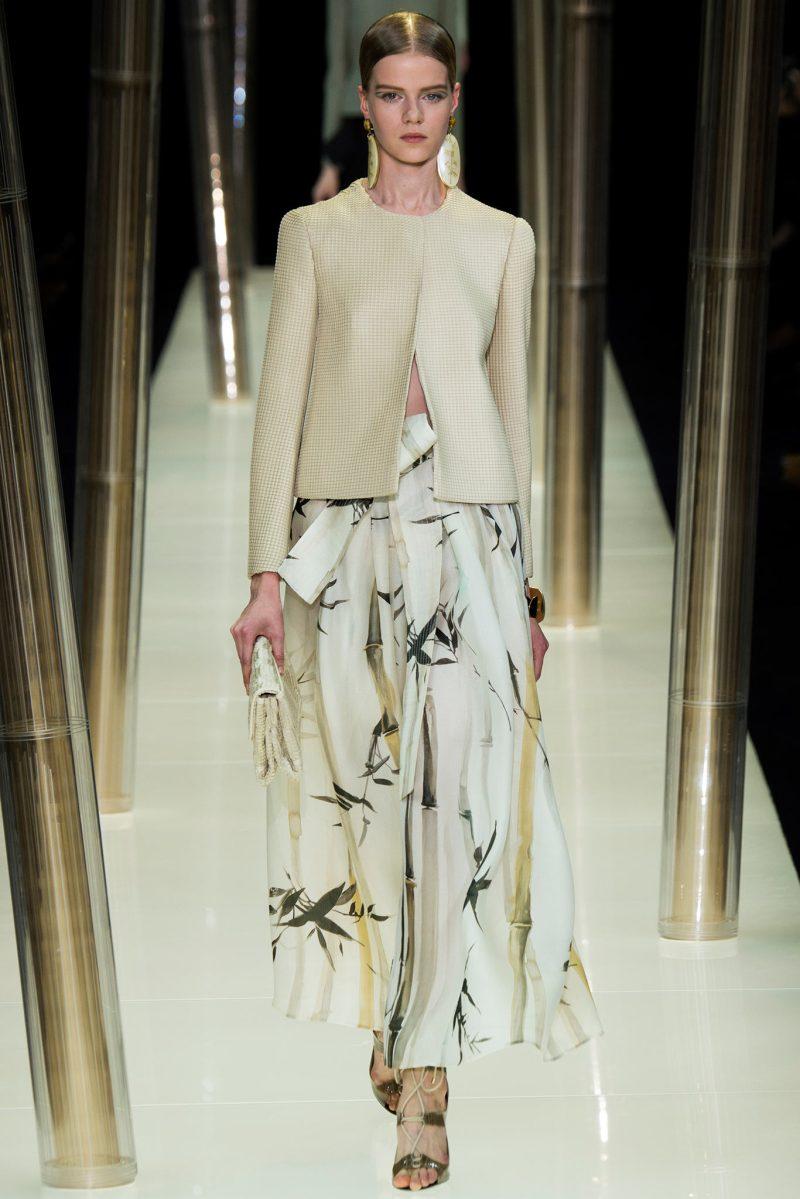 Armani Privé Haute Couture SS 2015 Paris (5)