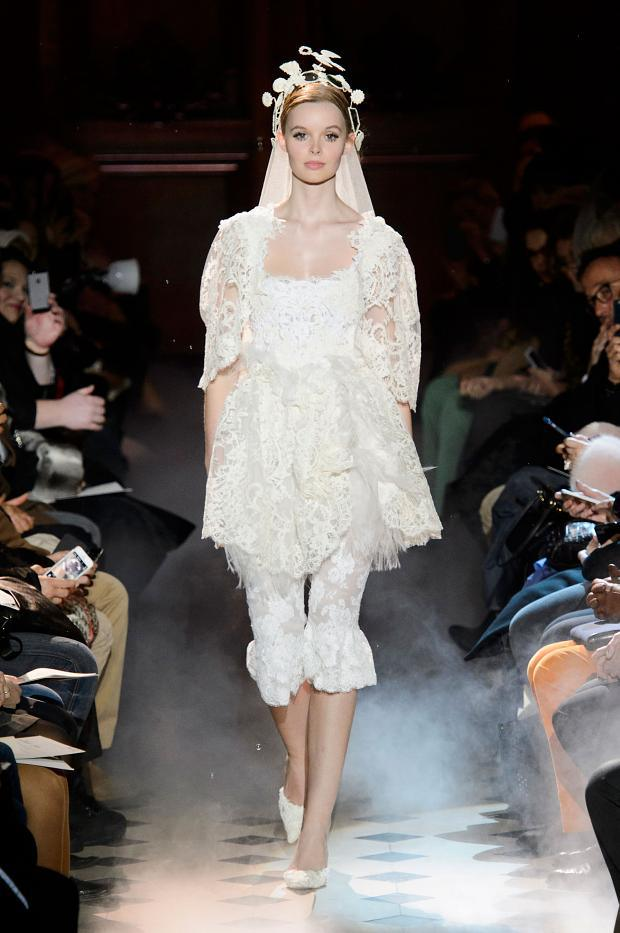 Franck Sorbier Haute Couture SS 2015 Paris (18)