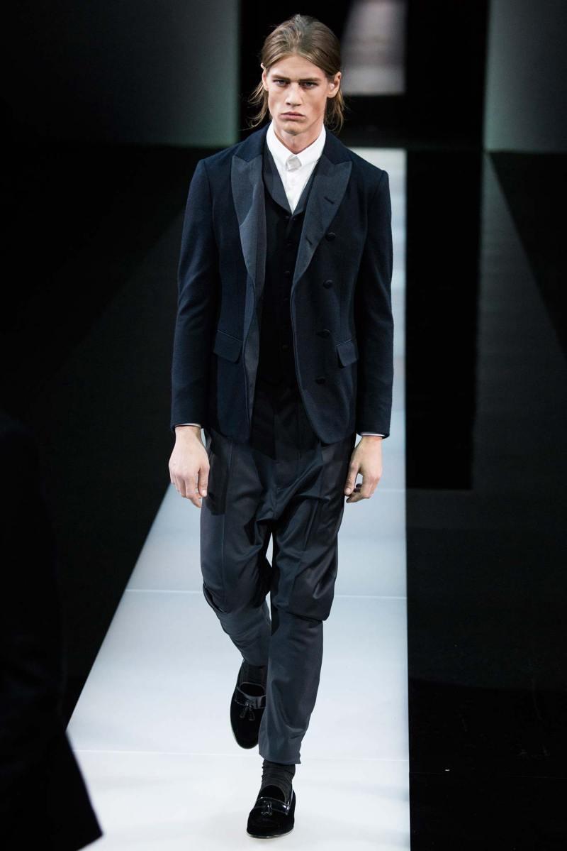 Giorgio Armani Menswear FW 2015 Milan (56)