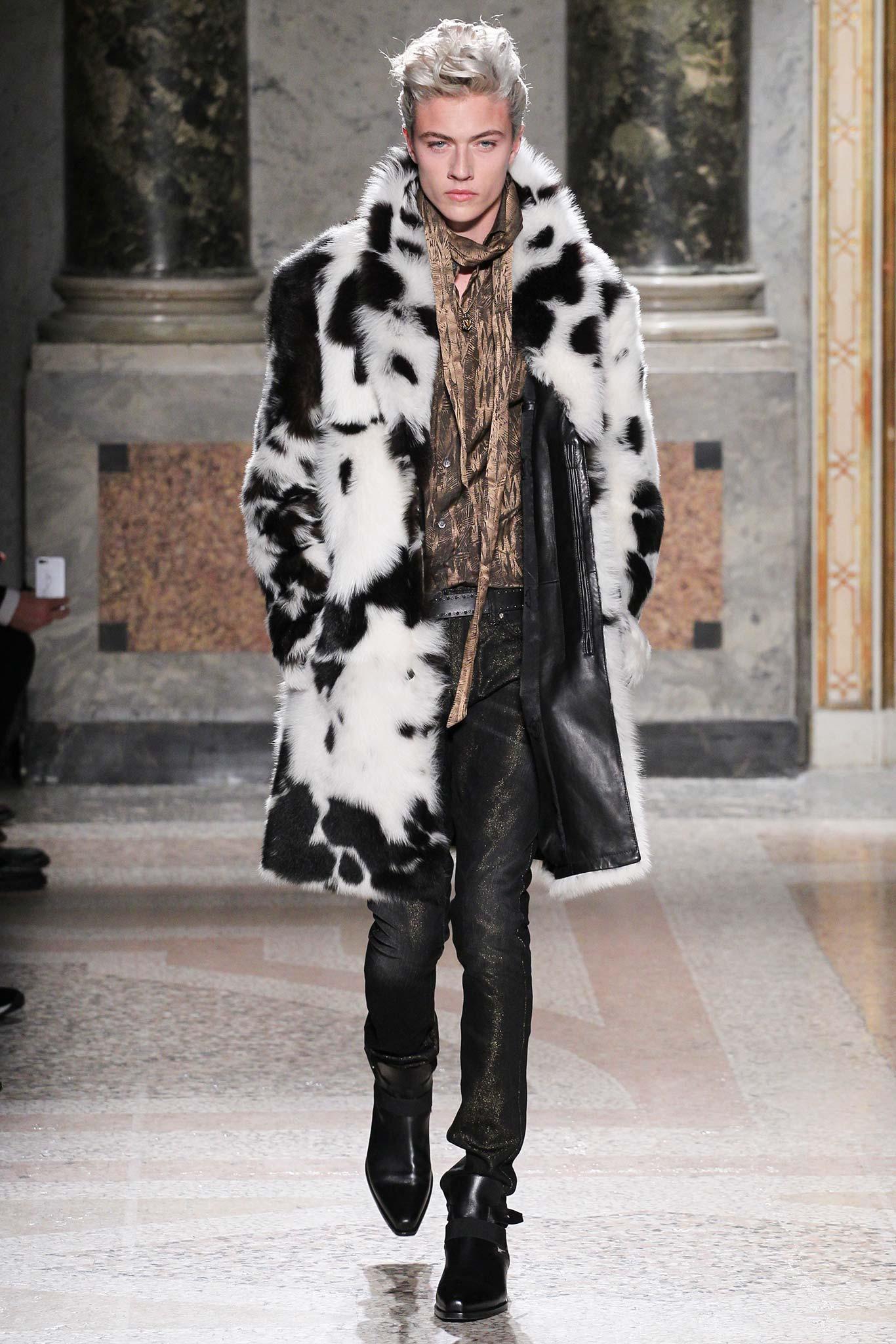 Roberto Cavalli Menswear FW 2015
