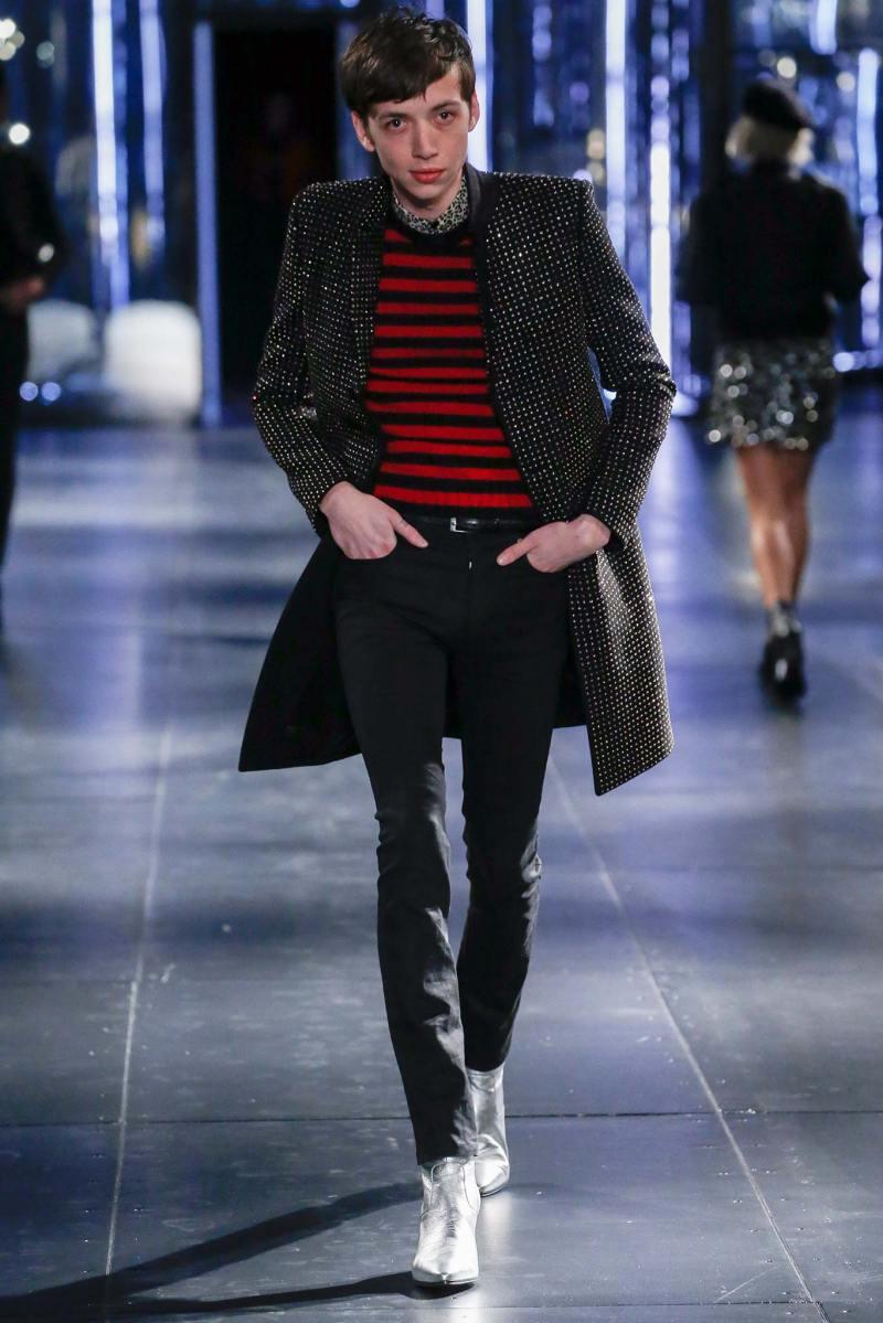 Saint Laurent Menswear FW 2015 Paris (46)