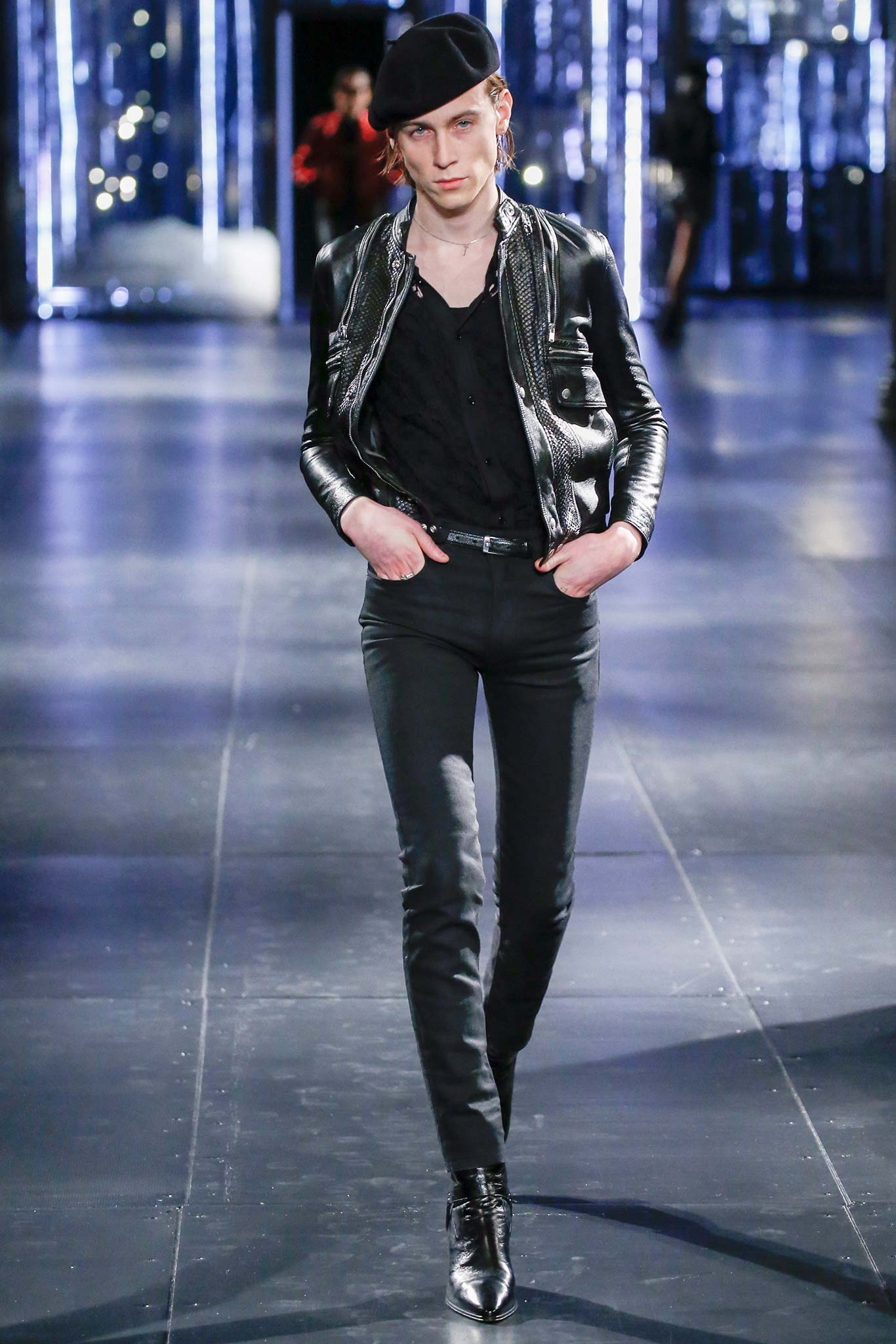 Saint Laurent Menswear FW 2015 Paris