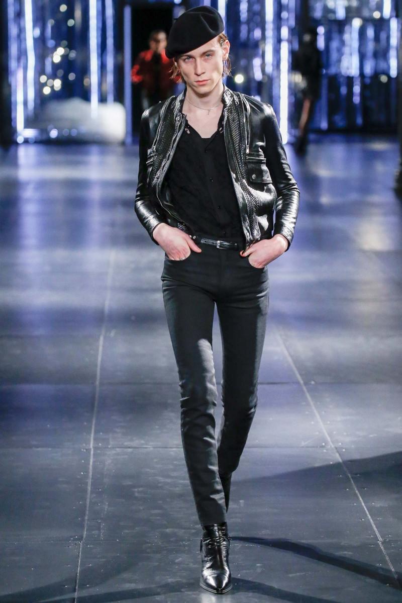 Saint Laurent Menswear FW 2015 Paris (47)