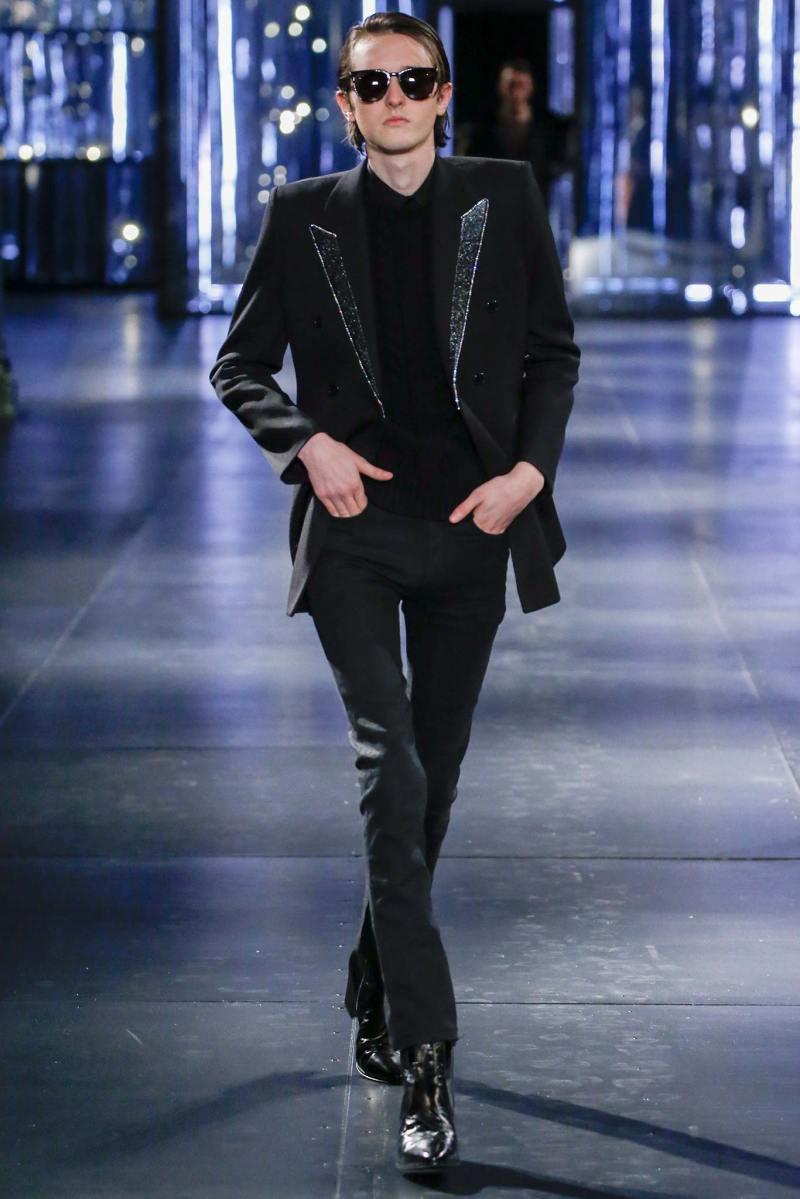 Saint Laurent Menswear FW 2015 Paris (51)