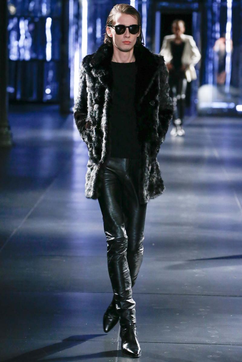Saint Laurent Menswear FW 2015 Paris (6)