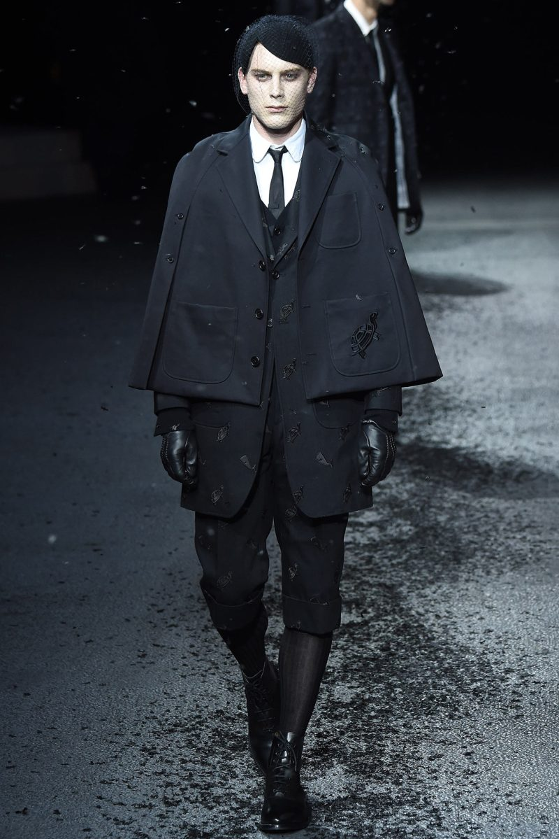 Thom Browne Menswear FW 2015 Paris (18)