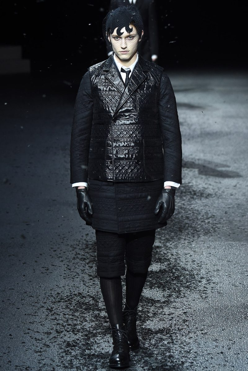 Thom Browne Menswear FW 2015 Paris (21)