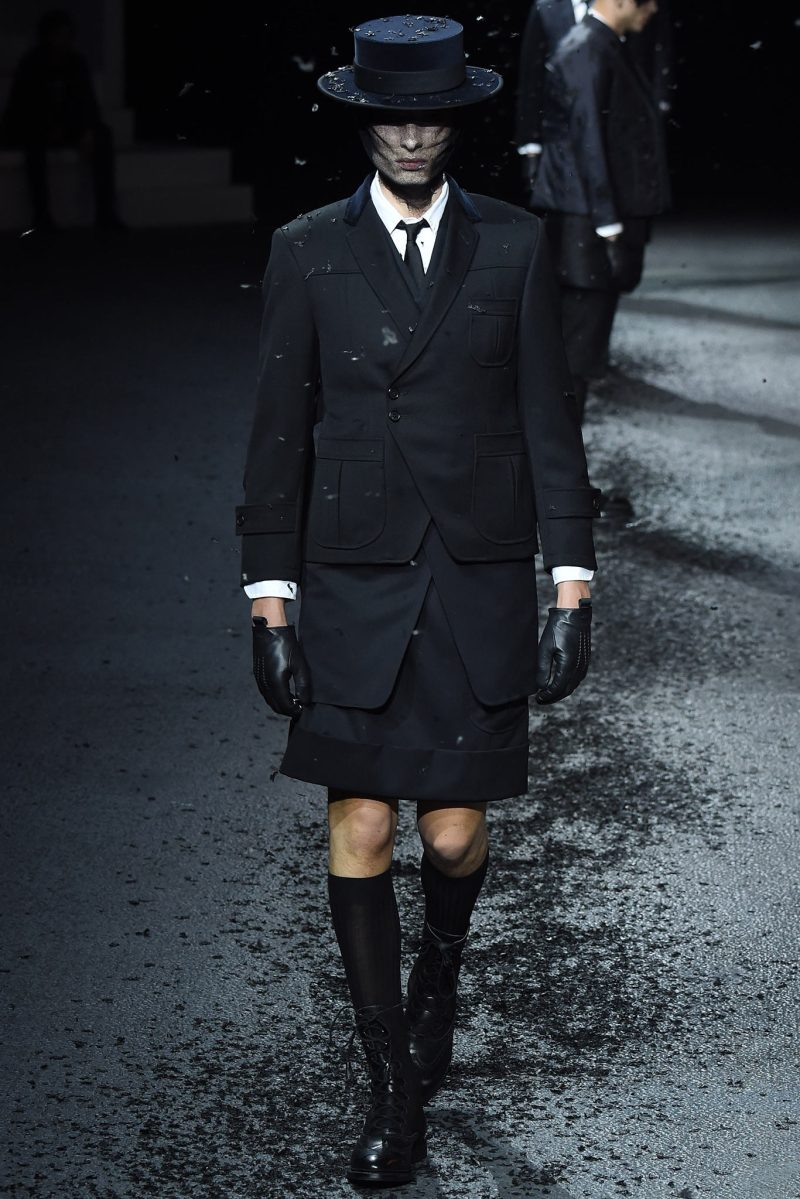 Thom Browne Menswear FW 2015 Paris (26)